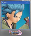 Dragon Quest XI Echoes of an Elusive Age - Steam Foil Trading Card 01 - Erik