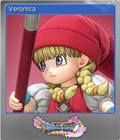 Dragon Quest XI Echoes of an Elusive Age - Steam Foil Trading Card 02 - Veronica