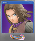 Dragon Quest XI Echoes of an Elusive Age - Steam Foil Trading Card 03 - Luminary