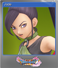 Dragon Quest XI Echoes of an Elusive Age - Steam Foil Trading Card 06 - Jade