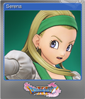 Dragon Quest XI Echoes of an Elusive Age - Steam Foil Trading Card 07 - Serena