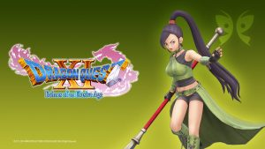 Dragon Quest XI Echoes of an Elusive Age - Steam Trading Card Artwork 06 - Jade