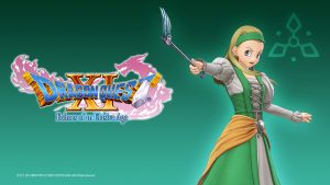 Dragon Quest XI Echoes of an Elusive Age - Steam Trading Card Artwork 07 - Serena